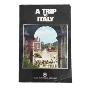 Vintage Italian Travel Booklet A Trip to Italy